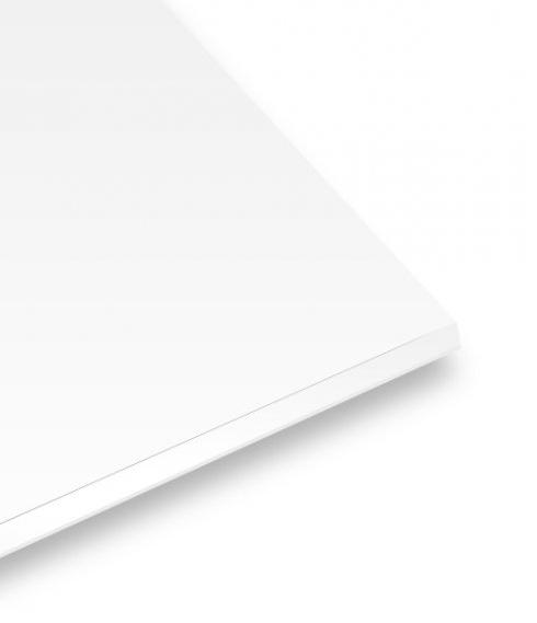 Płyta piankowa 10 mm 20x30 cm - samoprzylepna biała