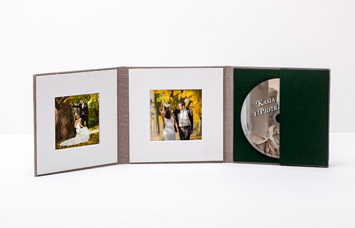 Okładka na płytę DVD /CD /B-RAY z dwoma zdjęciami