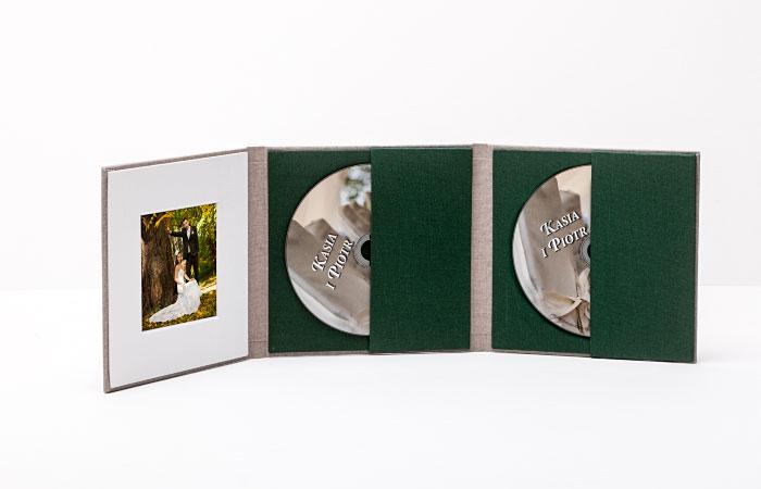 Okładka na dwie płyty CD /DVD /B-RAY ze zdjęciem