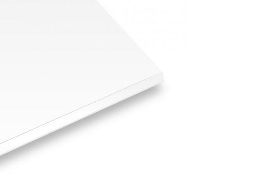 Płyta piankowa 10 mm 40x50 cm - samoprzylepna biała