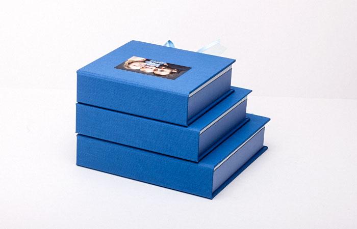 Pudełka na zdjęcia dzieci Baby Box - zestaw