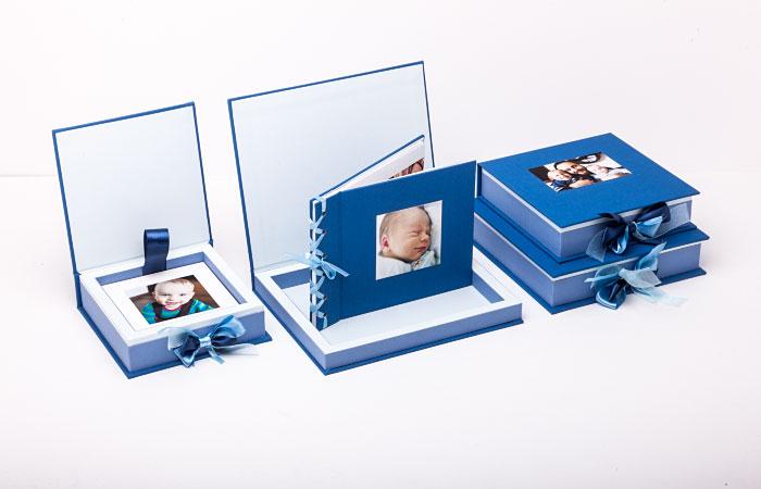 Pudełko na album lub zdjęcia dzieci 15x21 cm Baby Case