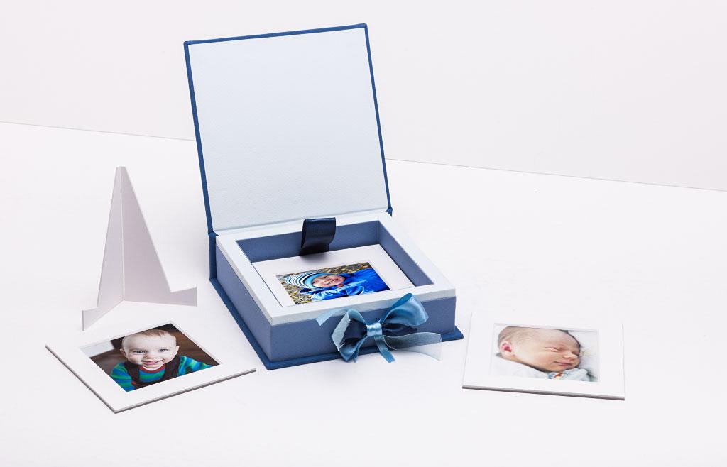 Pudełko na zdjęcia dzieci Baby Box Mini