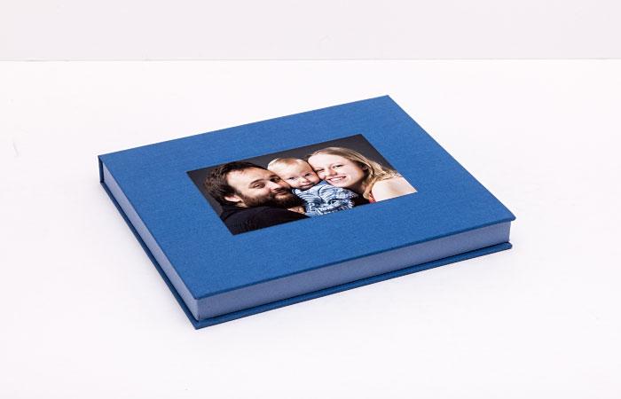Pudełko na album lub zdjęcia dzieci 18x24 cm Baby Case