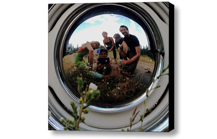 selfie canvas grupowy