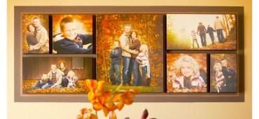 Obrazy na płótnie ze zdjęć w domowej galerii fotografii